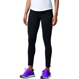 adidas Response Climawarm Naiset Juoksuhousut , musta